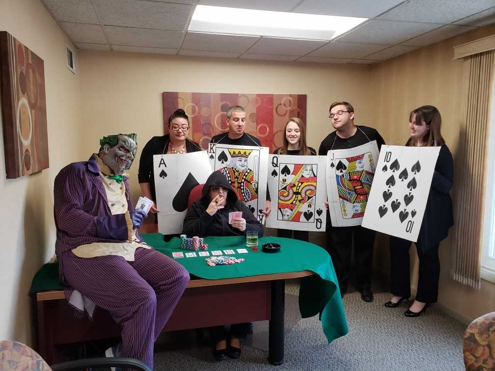 JFC staffing team culture event photo, don't gamble with your job search