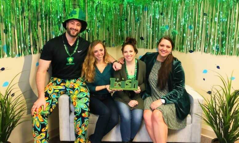 JFC Staff saint patty's day culture event 2019