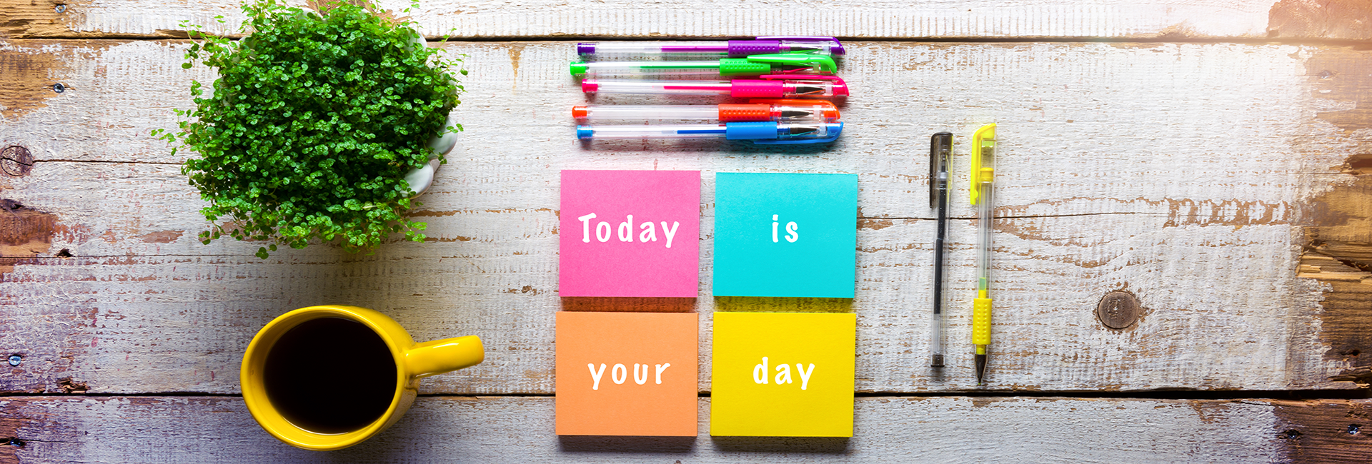 Today is your day stock photo