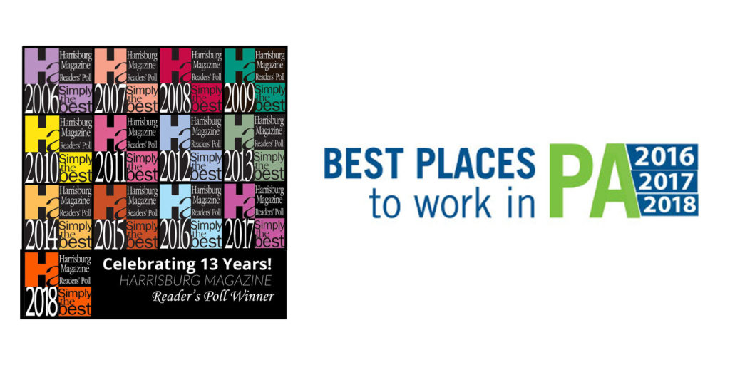 PA 2016,2017,2018 best places to work
